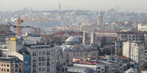 """İstanbul'da yeşil """"Şaka gibi"""""""