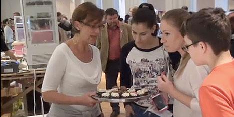 Avrupa'nın ilk pasta festivali