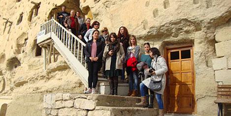 İspanyol acenteler Karaman'da