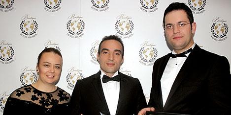Montania'ya En İyi Butik Otel ödülü