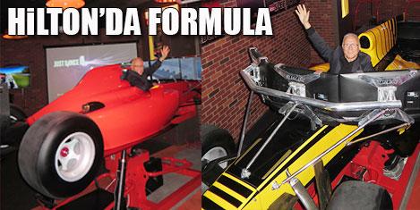 Formula pisti Kozyatağı Hilton'da