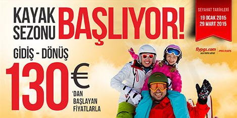 Pegasus ile yurt dışında kayak
