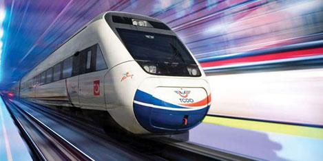 Yerköy-Kayseri'ye hızlı tren