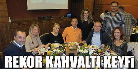 Marmara Skal Van kahvaltısında