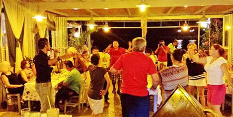 Kalymnos Taverna lezzeti