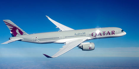 A350 XWB Qatar Airways'te