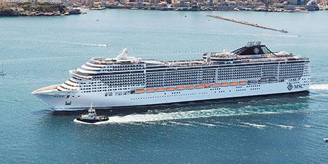 MSC Cruises'ın gözdesi Türkiye