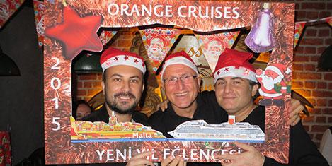 Orange Cruises'ın yeni yıl partisi