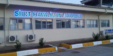 Siirt'in havalimanı 2017'de