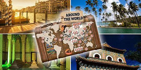 4 kıtada 365 günlük  dünya tatili