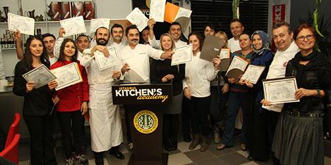 Kitchen's Academy'de eğitim