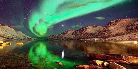 Kuzey ışıklarının izlendiği 8 yer