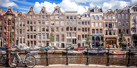 Türkler Amsterdam'ı seçti