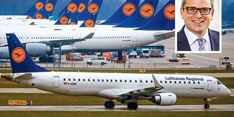 Lufthansa, Pegasus ciddi rakip