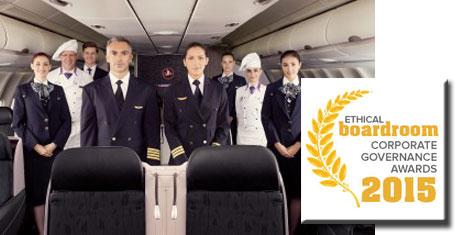 THY'ye uluslararası ödül