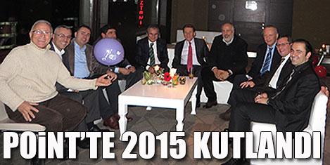 Point Taksim'de 2015 kutlandı