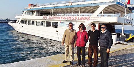 Bodrum-Kos feribot seferleri arttı
