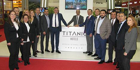 Titanic Hotels'in hedefi Amerika