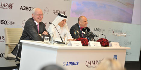 Qatar Airways'e A350 XWB