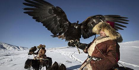 Kazakların Altın Kartal Festivali