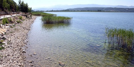Sapanca gölü maksimum seviyede