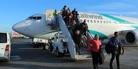 Tailwind Havayolları KKTC'de