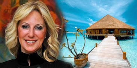 Türk iş kadınından Maldivler'e otel