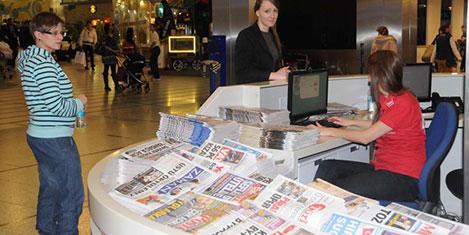 THY'de alınmayan gazeteler