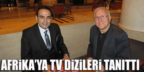 İstanbul'u Afrika'ya diziler tanıttı