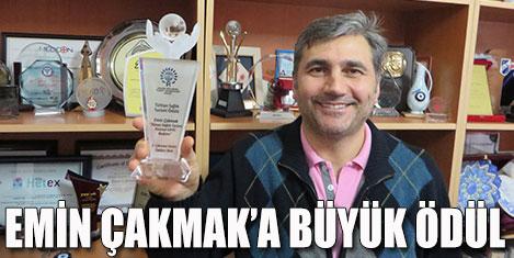 Emin Çakmak'a, ADRO'nun ödülü