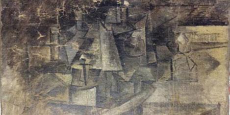 Kayıp Picasso tablosu bulundu