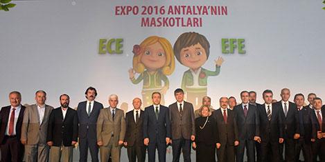 Expo 2016 maskotları Ece ve Efe