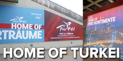 "Berlin'de Türkiye ""Home of…"""