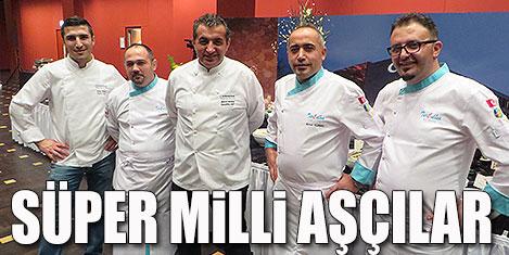 Türk aşçılar Berlin'de rekor kırdı