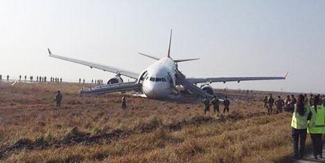 THY uçağı neden pistten çıktı