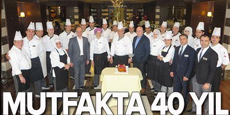 Hüseyin Usta'nın mutfakta 40 yılı