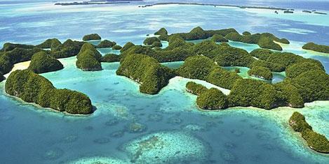 Palau Adaları'na Çinli akını