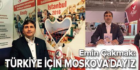 Emin Çakmak: Türkiye'yi tanıtıyoruz