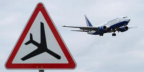 Rus havayollarında iptal