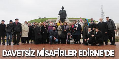 "Gülentur'a ""Davetsiz Misafir' olduk"
