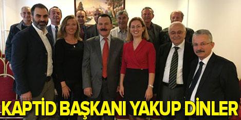 KAPTİD'in başkanı Yakup Dinler