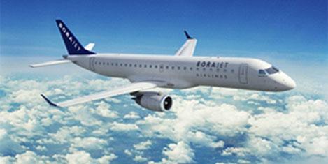 Borajet uçağına 'Edremit' adı verildi