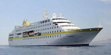 Doğu Karadeniz'de ilk gemi