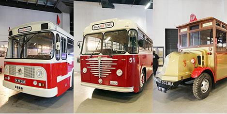 Nostaljik otobüslere tarihi rota