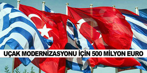 Yunanistan Türkiye için borçlandı