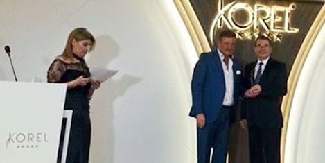 Altın Haşhaş'ta Korel' ödül