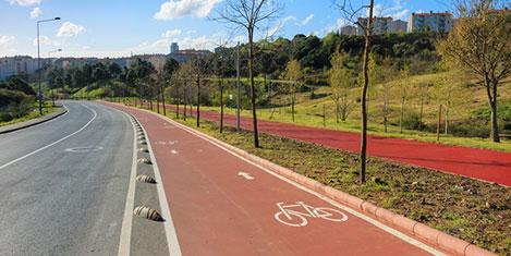 Maslak'a bisiklet kenti kuruluyor!