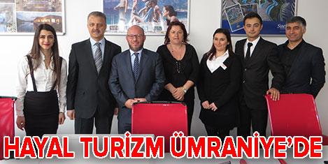 Hayal Turizm yeni ofisini açtı