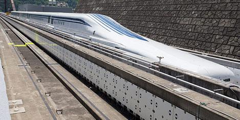 Tren saatte 603 km hız yaptı