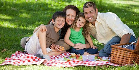 Otel konforunda piknik